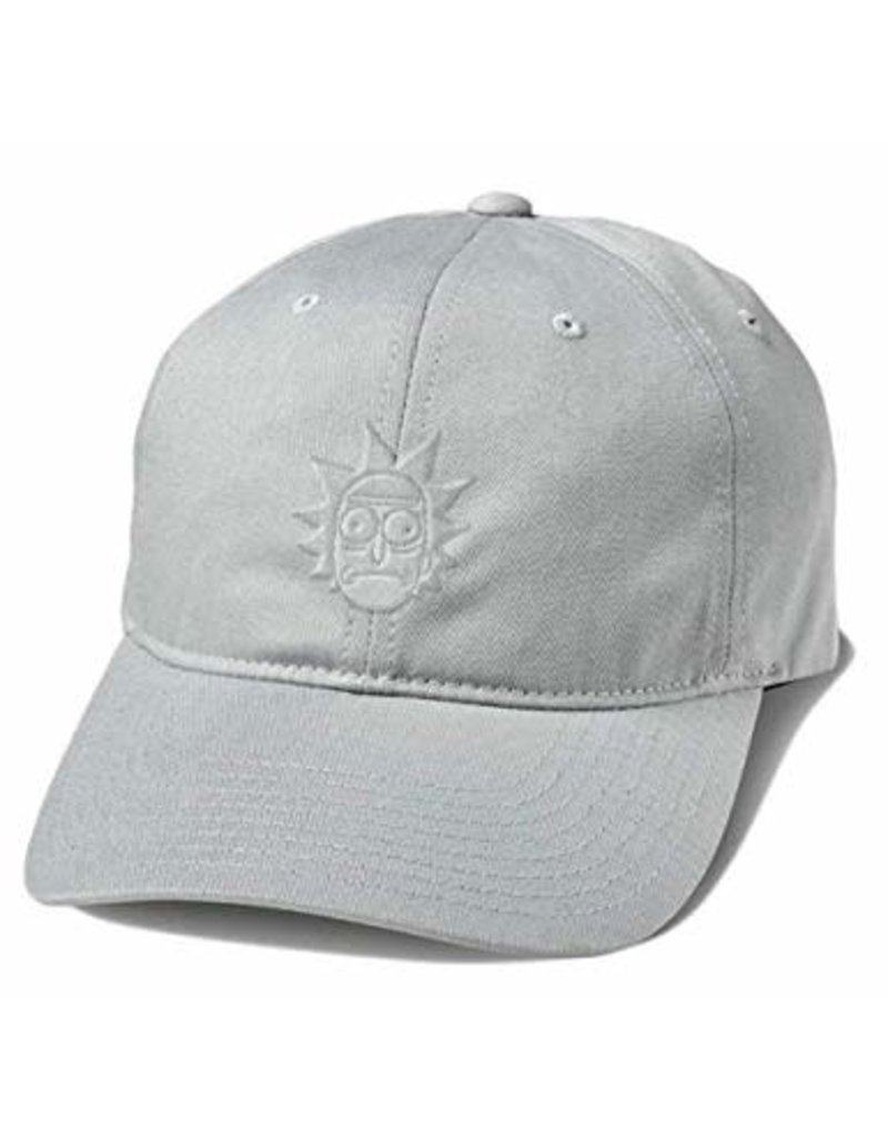 PRIMITIVE PRIMITIVE R&M RICK DAD HAT GREY