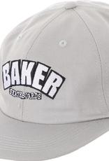 BAKER BAKER UNSTRUCTURED SNAPBACK HAT GREY