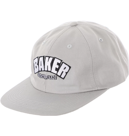BAKER BAKER UNSTRUCTURED SNAPBACK HAT GREY