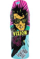 "VISION VISION PSYCHO STICK 10"" MODERN CONCAVE DECK"