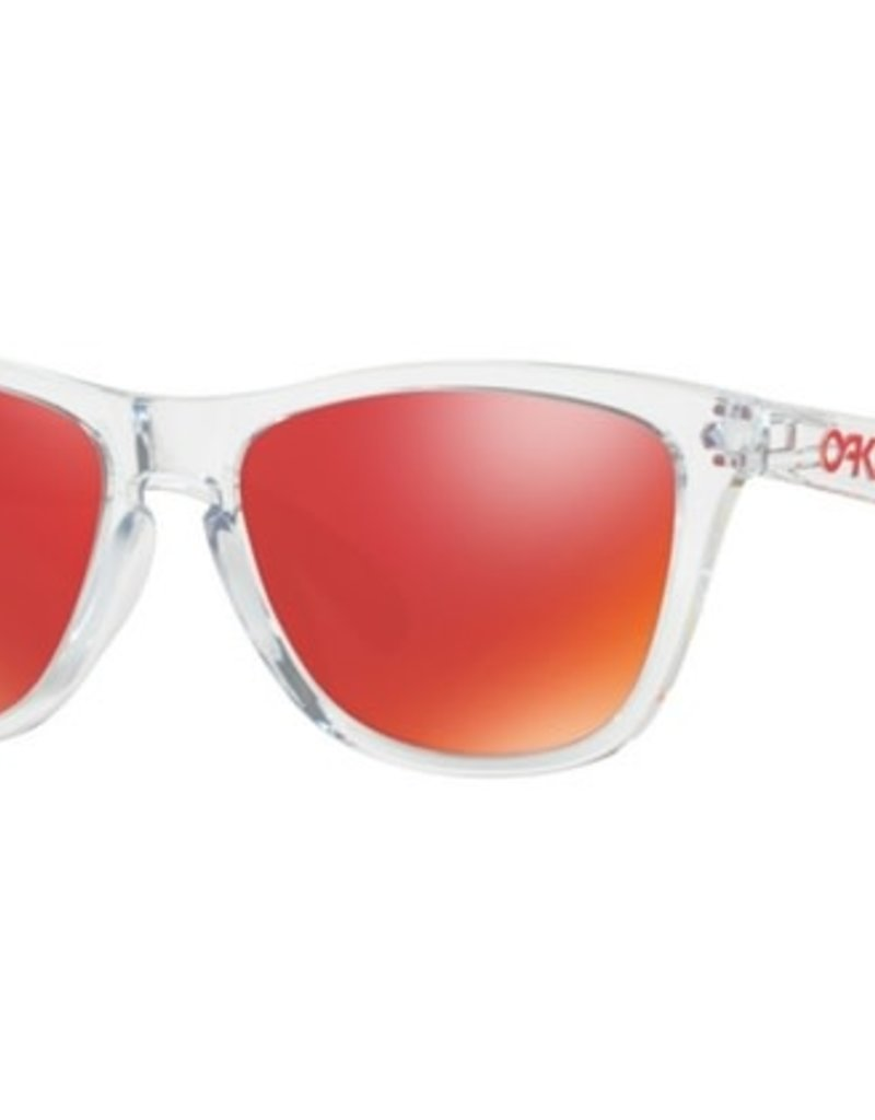 OAKLEY OAKLEY FROGSKINS CRYSTAL CLEAR TORCH IRIDIUM