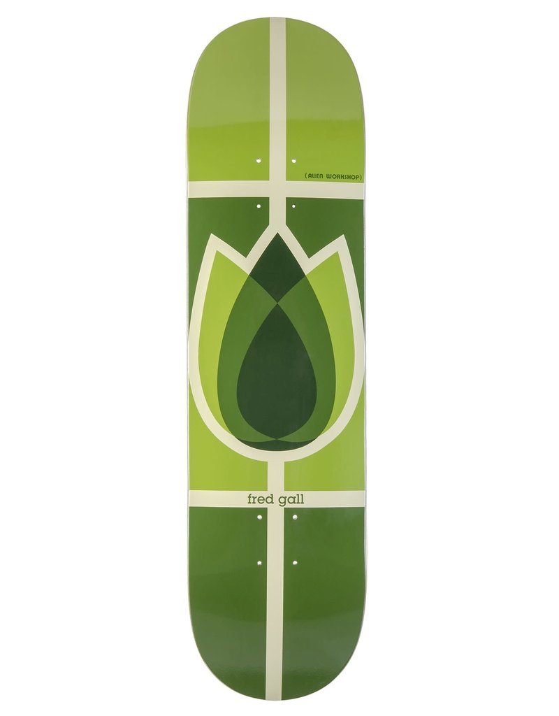 ALIEN WORKSHOP ALIEN WORKSHOP FRED GALL FLOWER REISSUE DECK 8.5