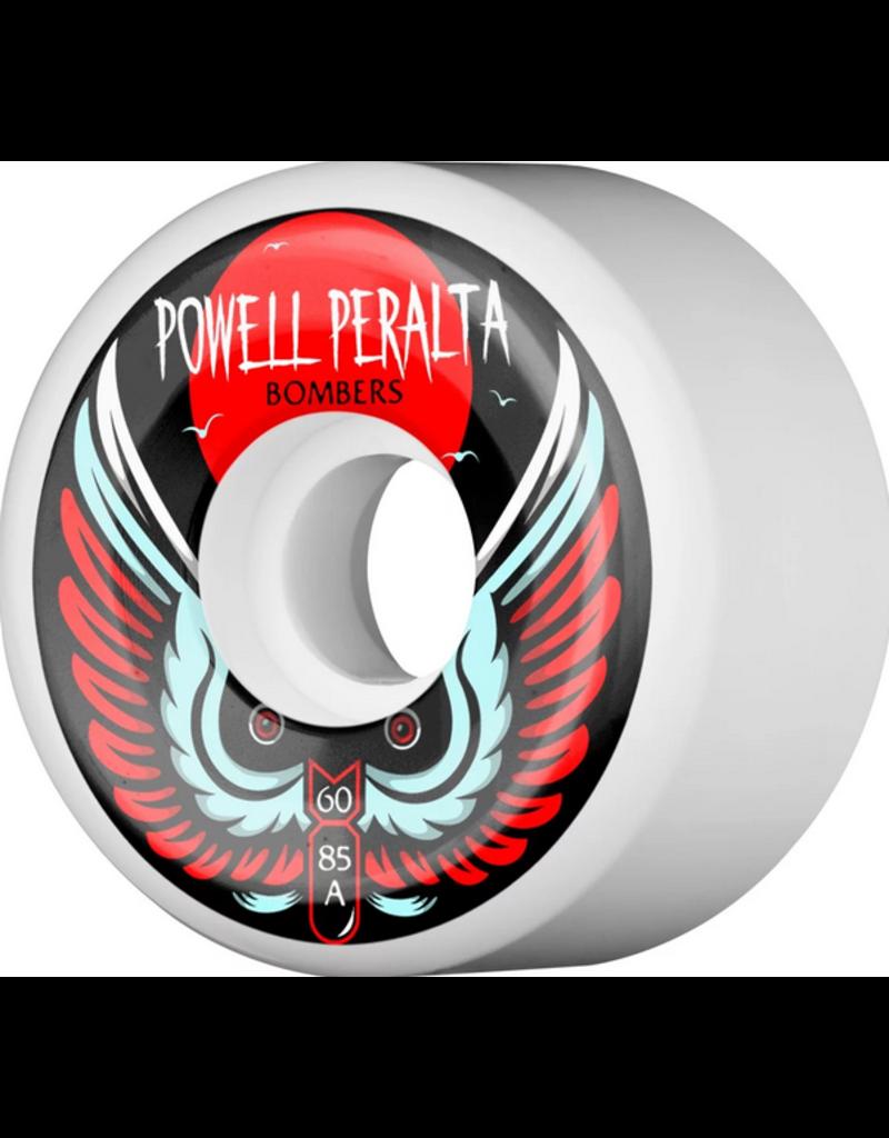 POWELL POWELL BOMBER WHEELS 60MM WHITE