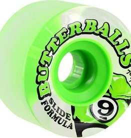 SECTOR 9 SECTOR 9 BUTTERBALLS WHEELS 70MM 75A GREEN