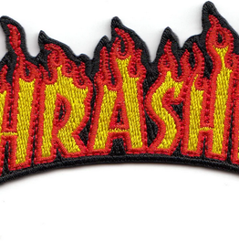 THRASHER THRASHER FLAME PATCH 2.4 X 4.5