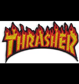 THRASHER THRASHER FLAME PATCH 2.4 X 4.5