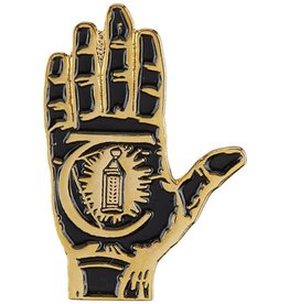 THEORIES THEORIES HAND OF THEORIES ENAMEL PIN