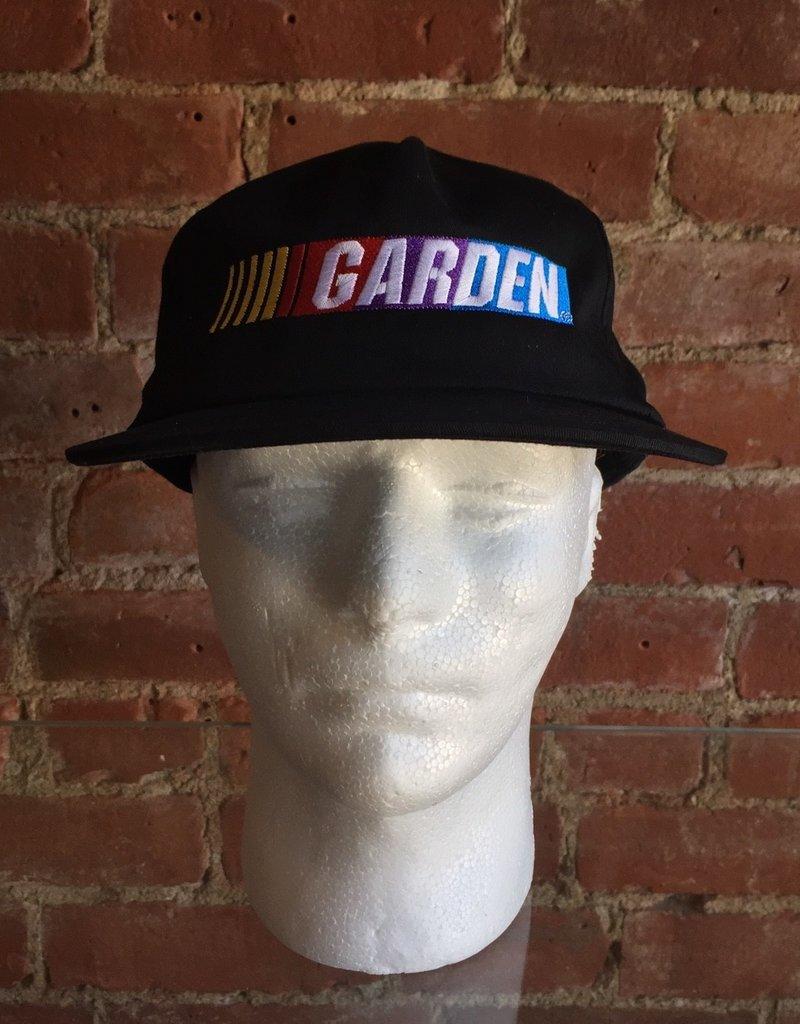 GARDEN GARDEN NASCAR EMBROIDERED SNAPBACK CAP BLACK