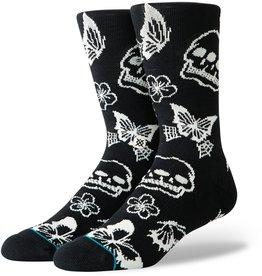 STANCE STANCE TRIPLE SKULL BLACK SOCK LARGE