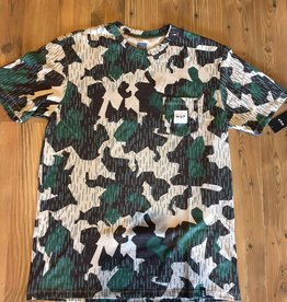 HUF HUF SPLINTER CAMO POCKET TEE