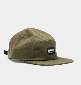 THRASHER THRASHER 5 PANEL ARMY GREEN HAT