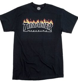 THRASHER THRASHER SCORCHED OUTLINED S/S TEE