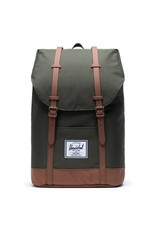 HERSCHEL HERSCHEL RETREAT DARK OLIVE SADDLE