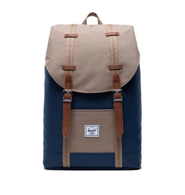 HERSCHEL HERSCHEL RETREAT NAVY TAN BACKPACK