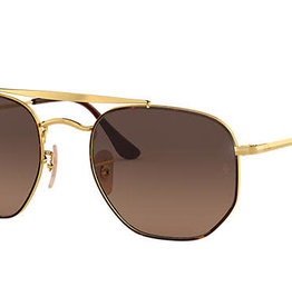 RAY BAN RAY BAN RB3648 THE MARSHAL HAVANA W/BROWN GRADIENT