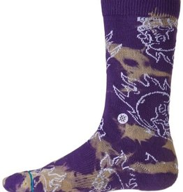 STANCE STANCE MENS PURPLE SCREAM SOCK LARGE