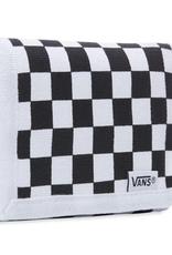 VANS VANS SLIPPED WALLET BLACK CHECKERBOARD