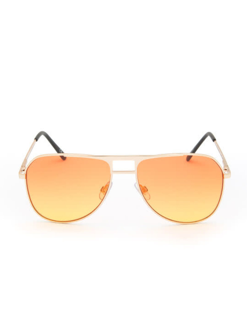 VANS VANS HAYKO SHADES SUNGLASES GOLD ORANGE