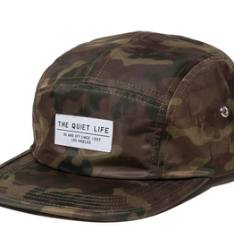 THE QUIET LIFE THE QUIET LIFE CAMO 5 PANEL CAMPER CAP