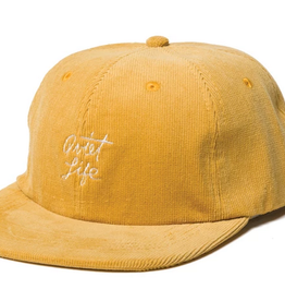 THE QUIET LIFE THE QUIET LIFE BEACH CORD POLO HAT GOLD