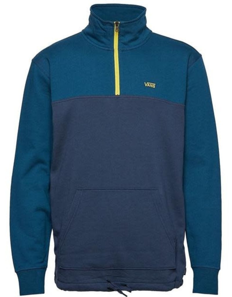 VANS VANS RETRO ACTIVE QUARTER ZIP TOP