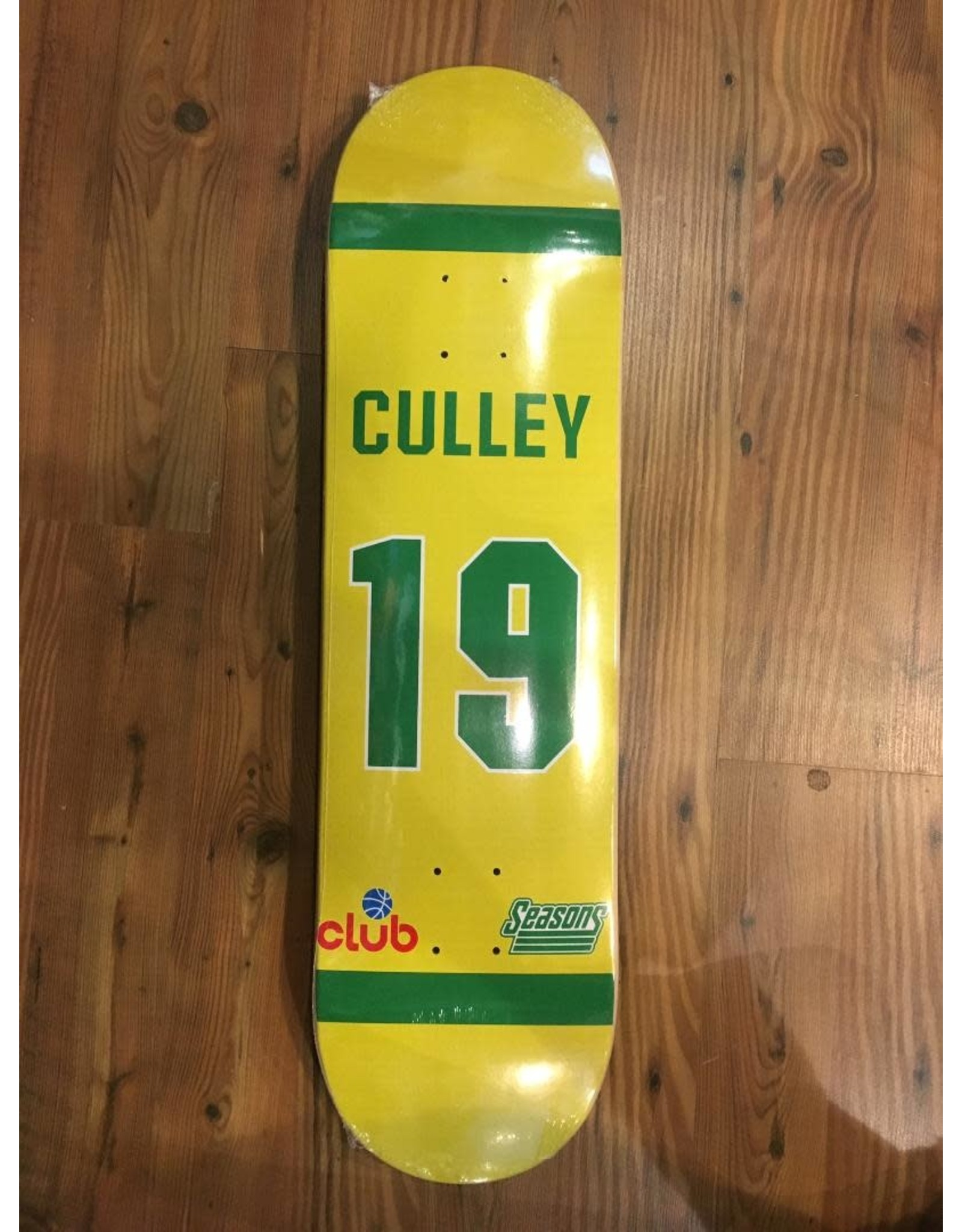 CLUB CLUB TREVOR CULLEY JERSEY 8.25 DECK