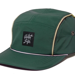 THE QUIET LIFE THE QUIET LIFE BELMONT 5 PANEL CAP GREEN