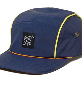 THE QUIET LIFE THE QUIET LIFE BELMONT 5 PANEL CAP NAVY