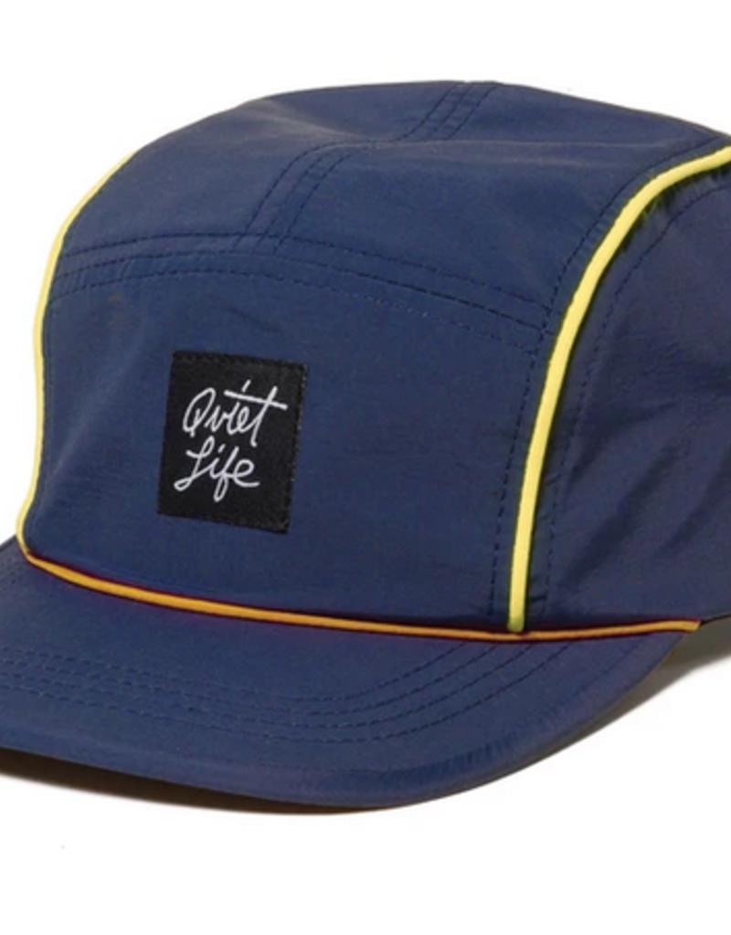 THE QUIET LIFE THE QUIET LIFE BELMONT 5 PANEL CAP NAVY