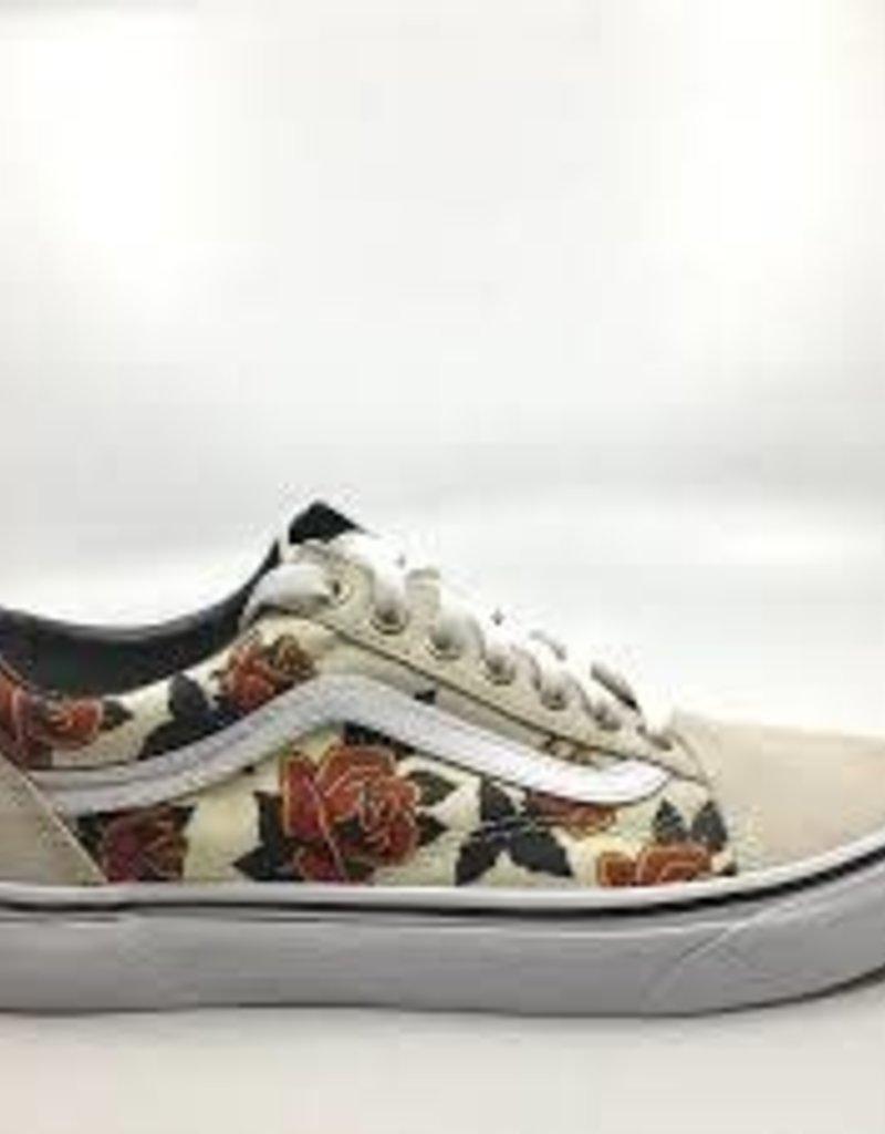 vans roses old skool
