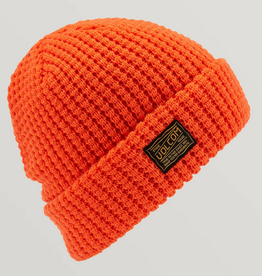 VOLCOM VOLCOM ROAD TEST FOLD BEANIE ORANGE