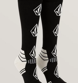 VOLCOM VOLCOM WOMENS TTT SNOW SOCK BLACK