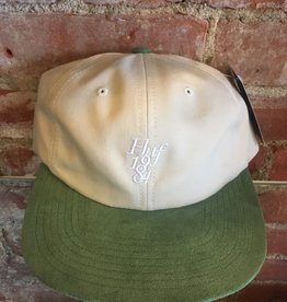 HUF HUF 1984 CONTRAST 6 PANEL STRAP BACK HAT OYSTER WHITE