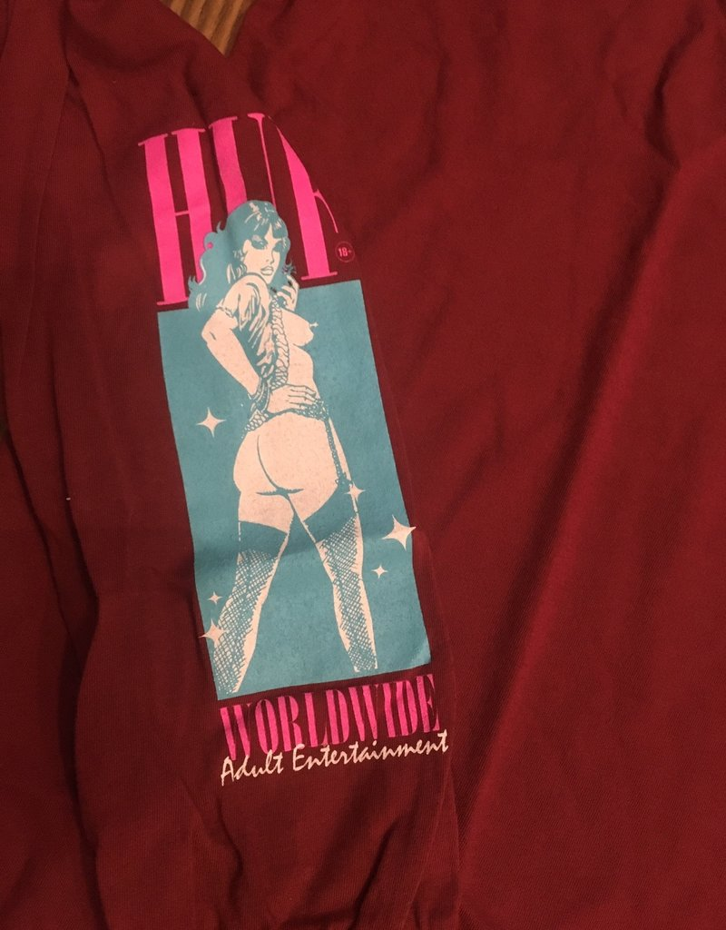 HUF HUF ADULT ENTERTAINMENT LS TEE SHIRT