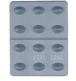 CRAB GRAB CRAB GRAB MINI SHARK TEETH TRACTION STOMP PAD CLEAR