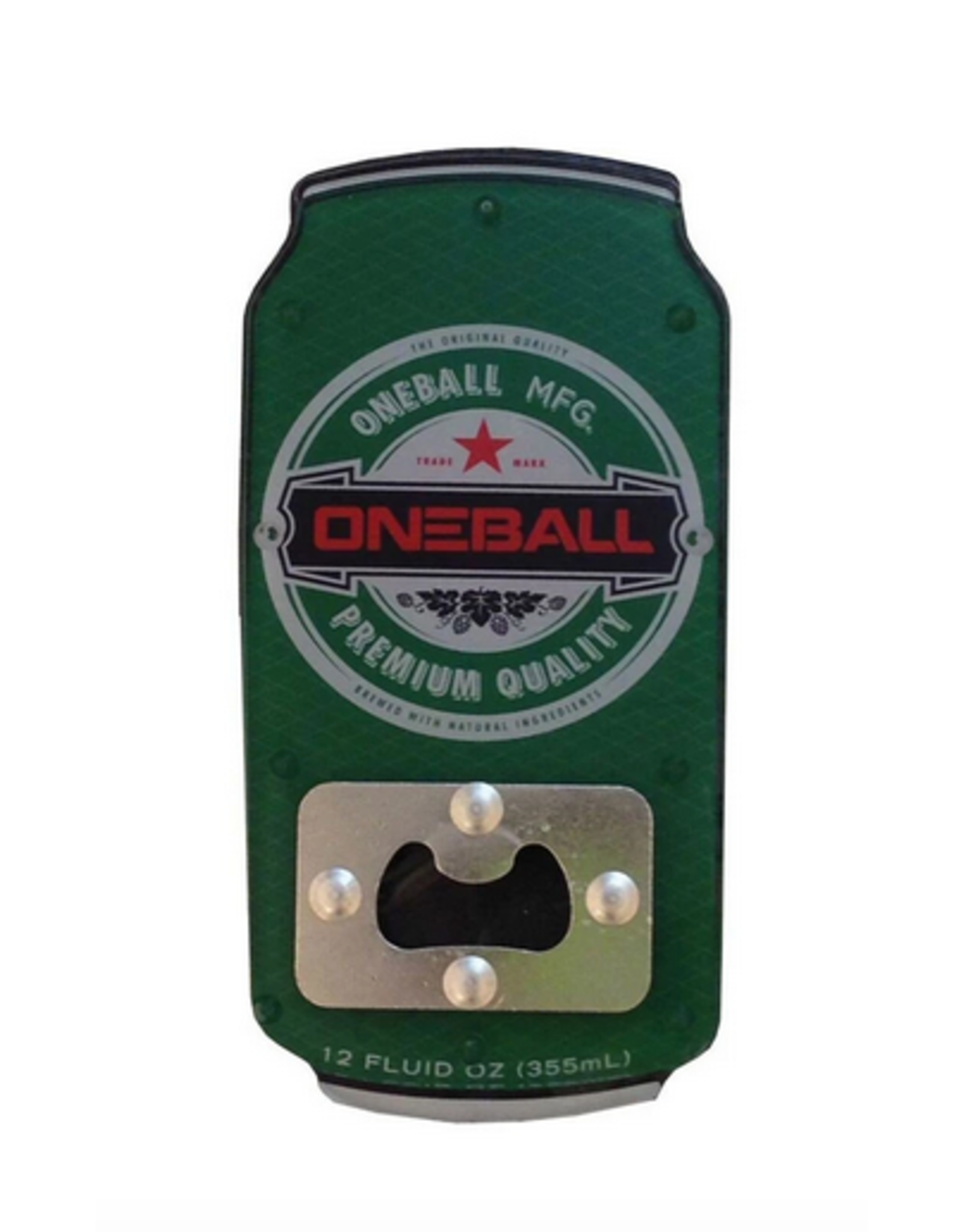 ONE BALL JAY ONE BALL JAY BOTTLE OPENER TRACTION STOMP PAD
