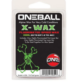 ONE BALL JAY ONE BALL JAY X-WAX FLOURINATED SPEED WAX COOL