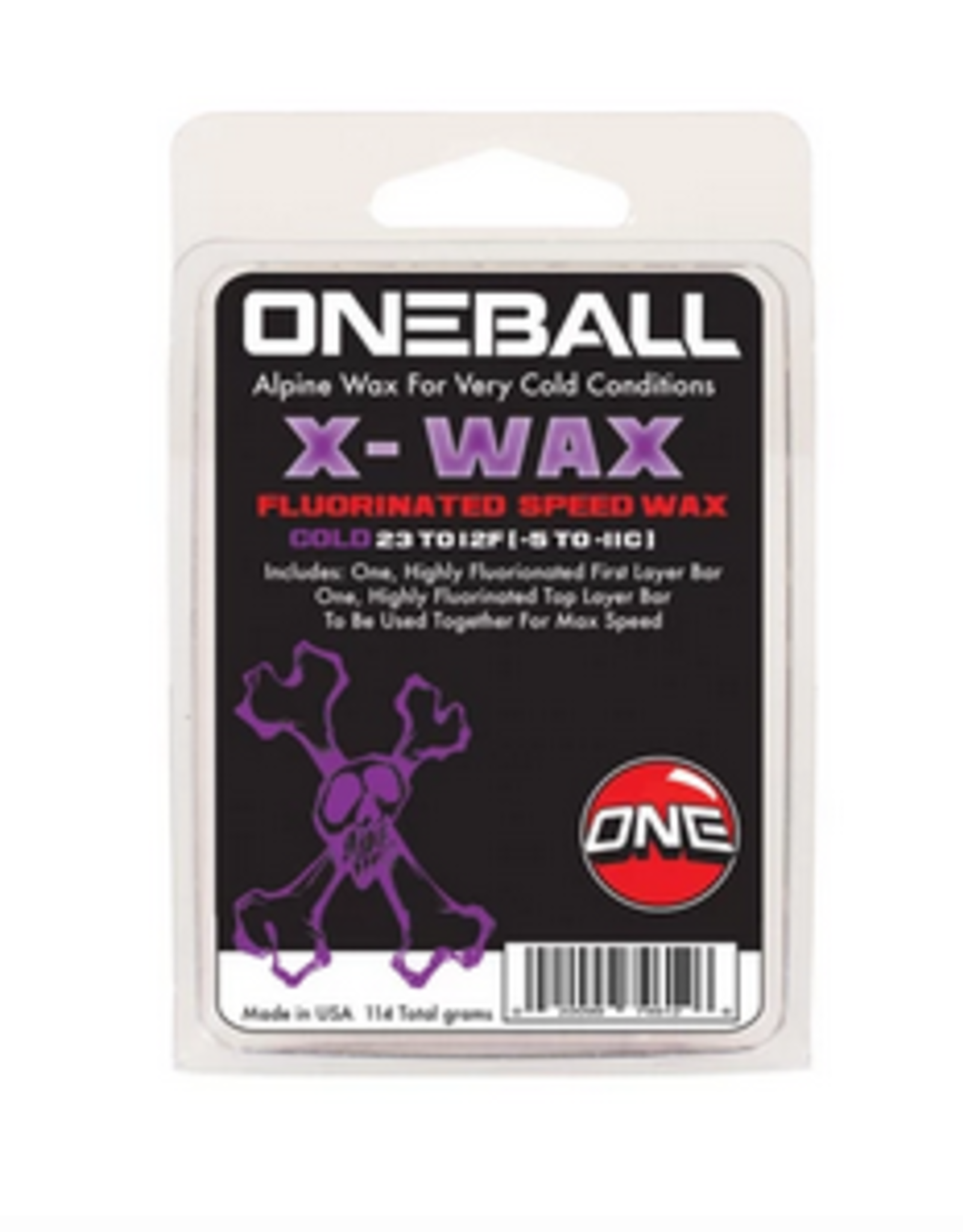 ONE BALL JAY ONE BALL JAY X-WAX FLOURINATED SPEED WAX COLD