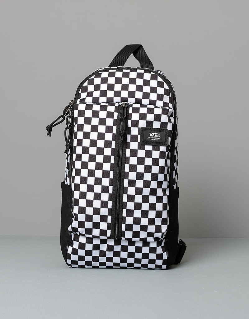 VANS VANS WARP SLING BAG CHECKERBOARD