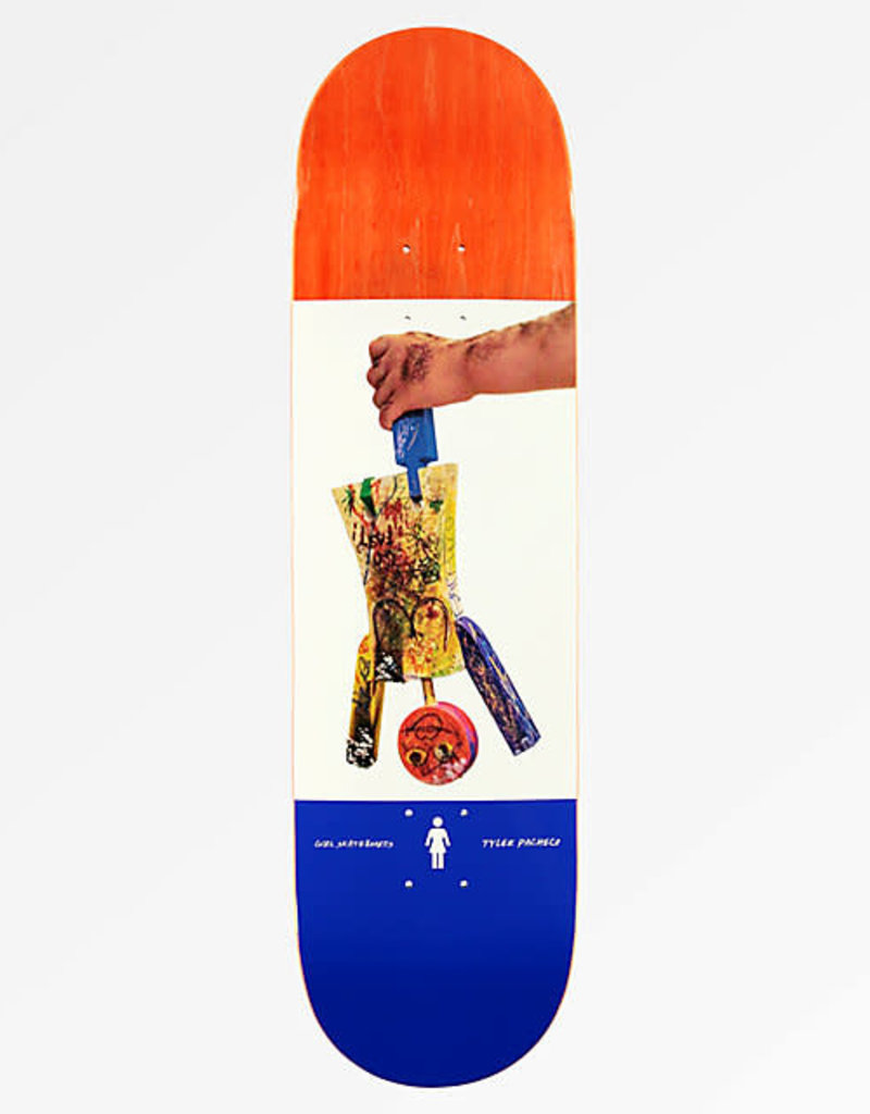 GIRL GIRL PACHECO ONE OFF DECK 8.5