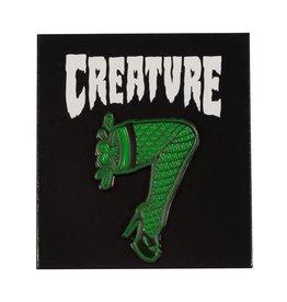 CREATURE CREATURE BURLESQUE PUSH BACK LEG PIN