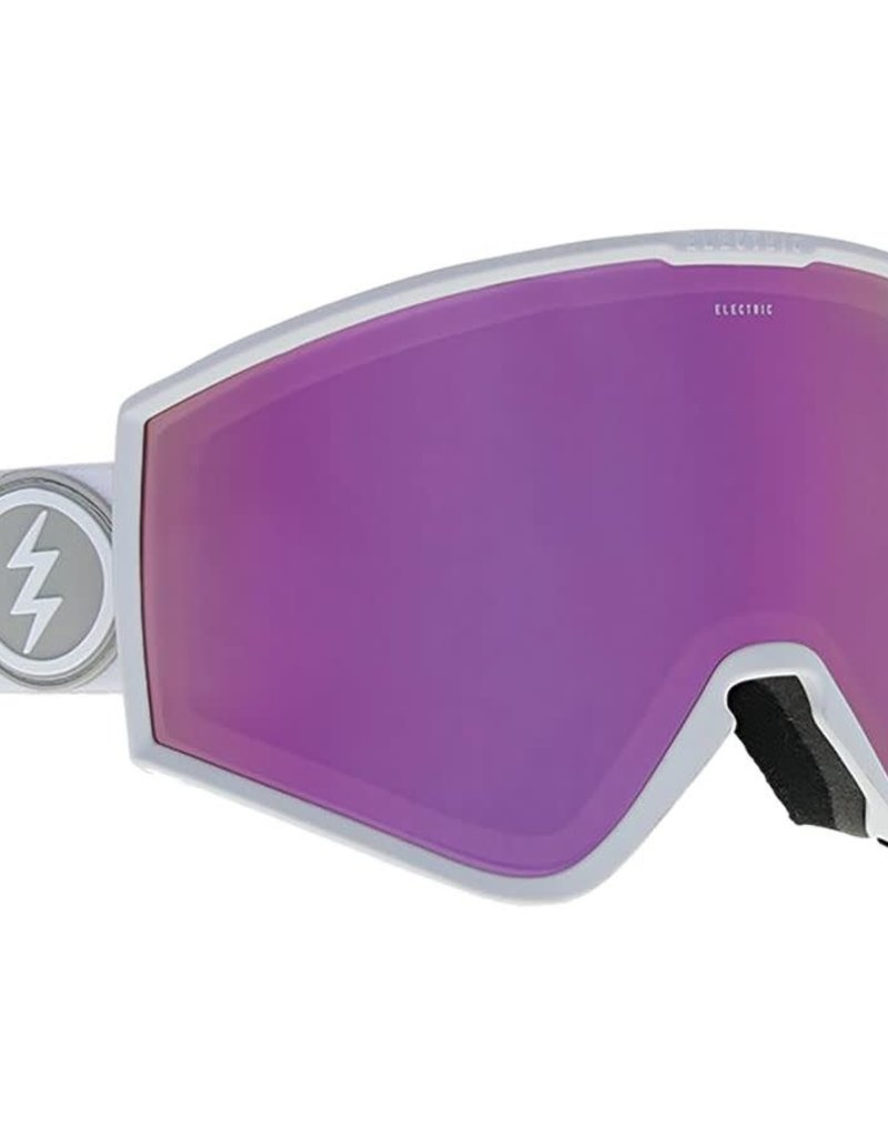 ELECTRIC ELECTRIC GOGGLE KLEVELAND+ GLOSS WHITE BROSE PINK + BLACK