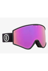 ELECTRIC ELECTRIC GOGGLE KLEVELAND+ MATTE BLACK BROSE PINK + YELLOW GREEN