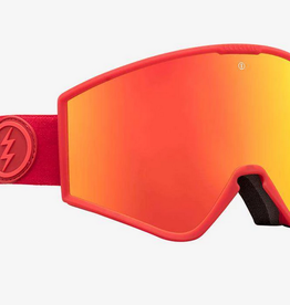 ELECTRIC ELECTRIC GOGGLE KLEVELAND HEAT BROSE/RED CHROME