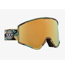 ELECTRIC ELECTRIC GOGGLE KLEVELAND CAMO BROSE/GOLD CHROME +YELLOW