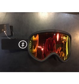 ELECTRIC ELECTRIC GOGGLE CHARGER XL MATTE BLACK BROSE/RED CHROME