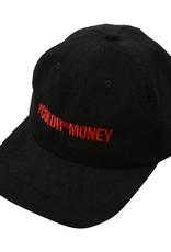 GX1000 GX1000 COLOR OF MONEY CORDUROY CAP HAT BLACK