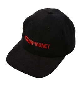 GX1000 GX1000 COLOR OF MONEY CORDUROY CAP HAT BLACK