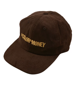 GX1000 GX1000 COLOR OF MONEY CORDUROY CAP HAT BROWN