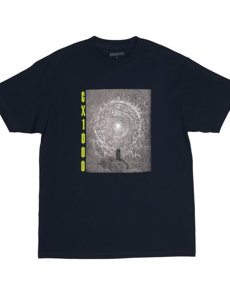 GX1000 GX1000 INFERNO TEE NAVY BLUE